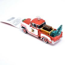 Kurt S Adler Budweiser Delivery Pickup Truck with Tree Christmas Ornament AB2201 image 4
