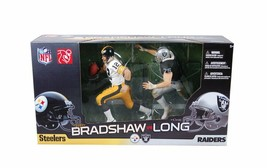 McFarlane Toys Terry Bradshaw and Howie Long Action Figure 2-Pack, New T... - $84.15