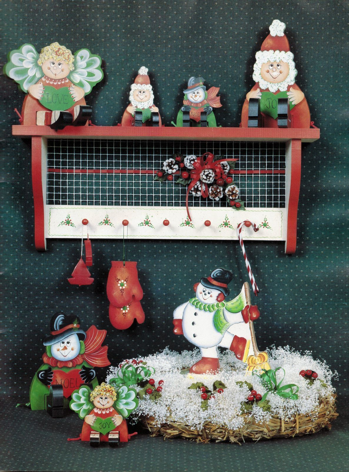 Tole Decorative Painting Christmas Halloween 4 Seasons V1 Kathy Griffiths Book