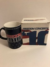 Freedom Concerts 2010 Coffee Mug Sean Hannity New In Box  - $18.80