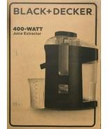 Black & Decker - JE2200B - Fruit and Vegetable Juice Extractor - Black - $79.15