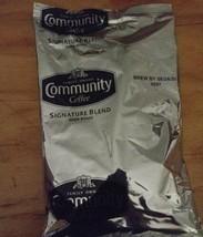 12 sealed family-owned Community Coffee Signature Blend Dark Roast. - $4.94