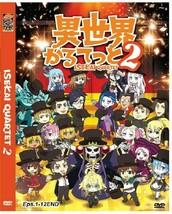 Isekai Quartet 2 (Vol.1-12End) Season 2 English Subtitle DVD Ship Out From USA