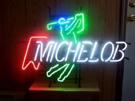 "New Michelob Ultra Play Golf Beer Bar Neon Light Sign 19""x15"" - $118.73"