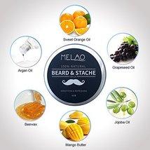 Beard Balm Softener Cream & Growth Conditioner & Leave In Conditioner & Moisturi image 4