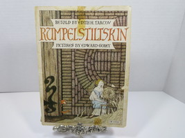 RUMPELSTILTSKIN Softcover Book Edith Tarcov & Edward Gorey (1973) Scholastic - $11.29