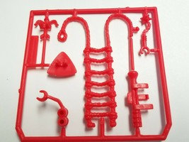 1987 Tyco Dyno Riders Weapons & Ladder Punch-Out Red NOS New! - $23.36