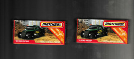 Lot of 2  2019 Matchbox POWER GRABS '35 Ford Pickups Case C - $8.90