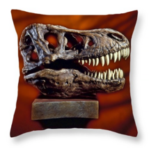 Tyrannosaurus Rex skull, Throw Pillow, fine art... - $41.99 - $69.99