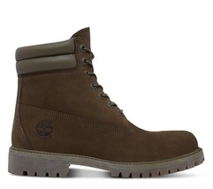 TIMBERLAND MEN'S 6-INCH DOUBLE-COLLAR WATERPROOF BOOTS SIZE 9M US - $3.023,46 MXN