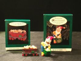 Hallmark Handcrafted Ornaments AA-191774B Collectible ( 2 pieces ) image 6