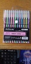 Neon Color 12 Pen Set 1.0 mm - $13.85