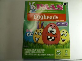 Paas Eggheads and Dudley's Majestic Egg Decorating Kits - $7.91