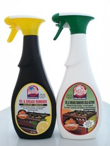 Set of 2: Oven & Grill Cleaner Degreaser Cold Action, Lemon/Extra Streng... - $27.99