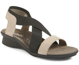 New in Box - $295 Mephisto Pastora Warm Grey Bucksoft Sandals Size 6 - $129.99