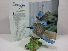 THE LENOX GARDEN BIRD COLLECTION Western Scrub Jay (2001 Fine Porcelain) image 3