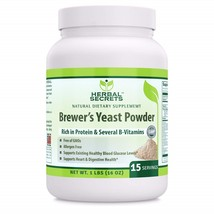Herbal Secrets Brewer's Yeast Powder - Supports Healthy Blood Glucose Level - $152.59