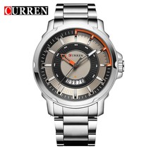 NEW CURREN watches men Top Brand fashion watch quartz Business watch male relogi - $34.86