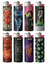 BIC Special Edition Hip Nation Series Lighters 2018 Set of 8 - $16.99