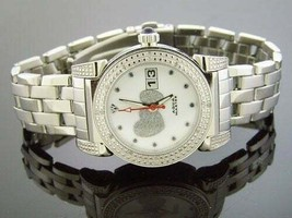LADY AQUA MASTER ROUND WITH 16 DIAMONDS WATCH - $158.39
