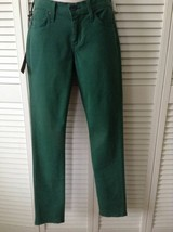 NEW JAMES JEANS Randi Pencil Leg in Emerald Green (Size 25) - MSRP $169.00! - $49.95