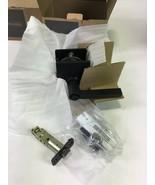"Schlage F40 LAT 622 CEN Black Universal Pricacy Door Handle 13/4"" DR Bed... - $36.00"