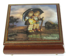 Authentic Rare Antique MI Hummel Music Box No. 4417 Handcrafted Brahms L... - $480.15