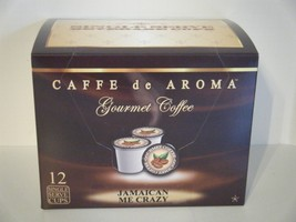 Caffe de Aroma Jamaican Me Crazy flavored 12 Single Serve K-Cups OK for 2.0 - $9.99