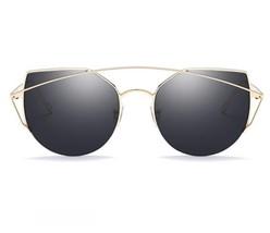 b53875b0b76 Women Sunglasses Oversized New Fashion Luxury Flat top Cat eye Female Su...  -
