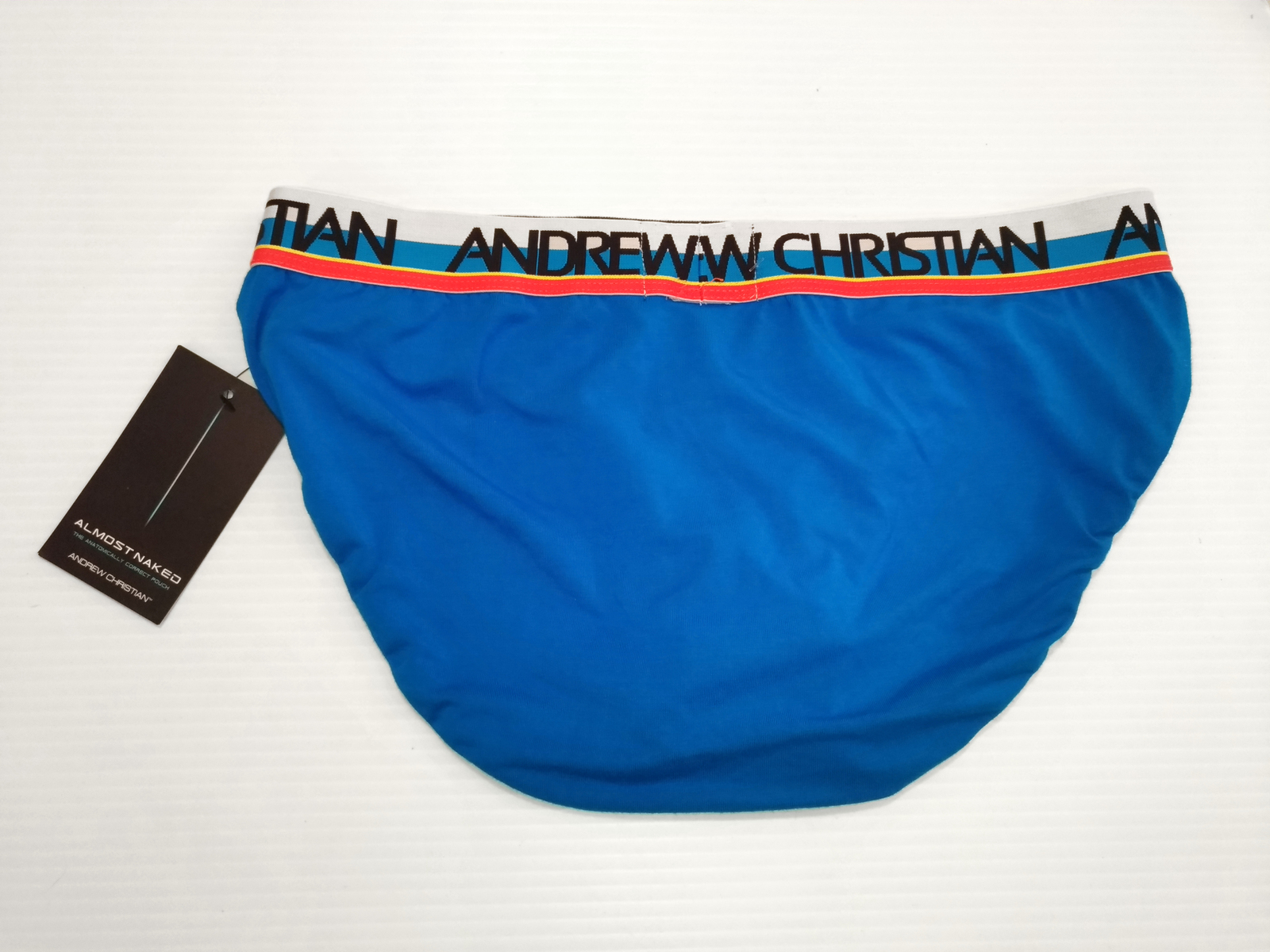 Nautica Men/'s Fly-Front Brief Super Soft Medium NWOT White 100/% Cotton