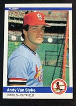 1984 Fleer #339 Andy Van Slyke RC , Cardinals, Pirates - $1.63