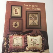 For Hearth and Home Cross Stitch Pattern Book Stoney Creek #4 - $9.74