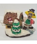 Pound Puppies Ceramic Lighted House Tonka Vintage 1987 Retro Cartoons - $19.35