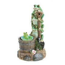 SOLAR ROTATING FROG GARDEN DECOR - $29.95