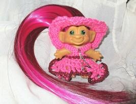 "Parisian Rootie 3"" OOAK Custom Troll Doll rooted vintage 1960s Eiffel To... - $65.34"