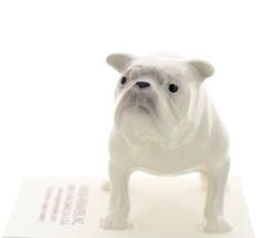 Hagen-Renaker Miniature Ceramic Dog Figurine Bulldog Standing White image 2