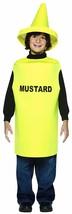 Rasta Imposta Lightweight Mustard Children's Costume, 7-10, Yellow - $22.79