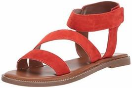 Franco Sarto Women's Kamden Sandal, Tomato, 8 M US - $32.06
