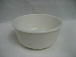 """Vintage White Milk Glass 9"""" Mixing Bowl - $12.16"""
