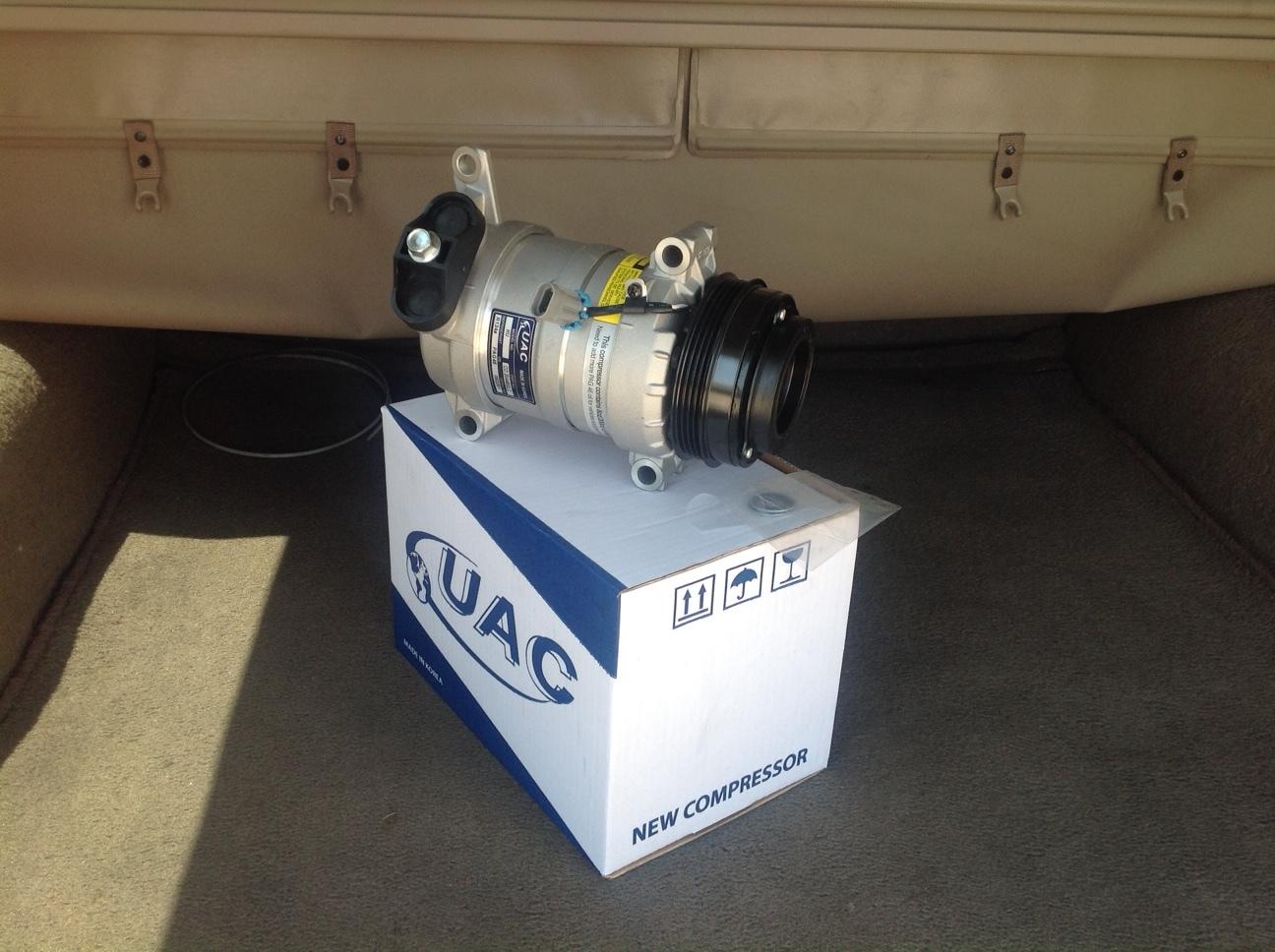 99 02 chevy silverado pickup ac air conditioning compressor parts 2 kit