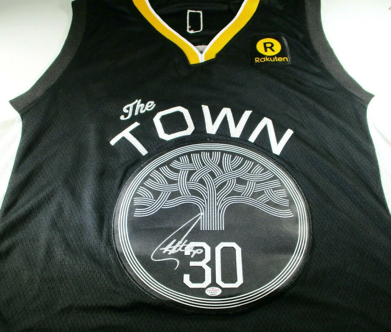 huge discount d516e 3e716 STEPHEN CURRY / AUTOGRAPHED GOLDEN STATE WARRIORS 'THE TOWN