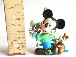 "Enesco Disney Ornament ""Mickey Mouse & Chipmunk""  Low Price - $7.59"