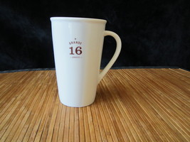 2010 Starbucks Grande Coffee Latte Tea Cup Ivory Ceramic Tall Mug 16 oz - $18.99