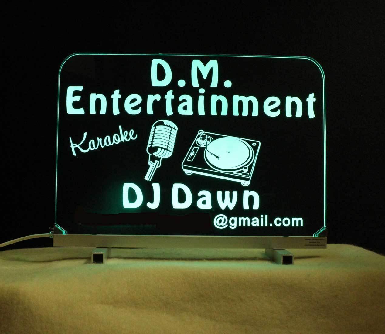 Personalized DJ Karaoke LED Bar Sign  image 5