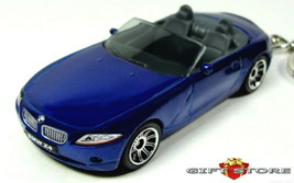 RARE KEY CHAIN BLUE BMW Z4 CONVERTIBLE ROADSTER CABRIOLET CUSTOM LTD EDI... - $32.98