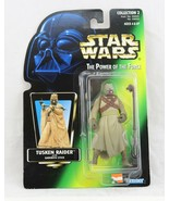 Rare Chinese Version Kenner Star Wars Tuskin Raider POTF Green Card figu... - $29.99