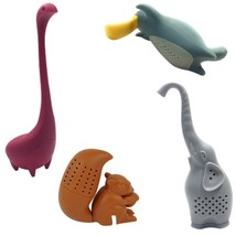 Tea Infuser Loose Leaf Tea Bag Fun Shapes Of Animals Easy To Use And To ... - £20.90 GBP