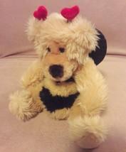 "Russ Berrie Tan Bumble Bee Teddy Bear Breezy Plush Stuffed Animal 9"" - $12.19"