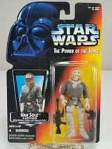 Star Wars Power Of The Force - Han Solo in Hoth Gear (Orange Card) - Kenner 1996 - $8.00