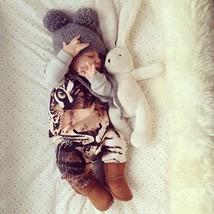 Newborn Kids Baby Boys Girls Cotton Romper Jumpsuit Bodysuit Clothes Out... - $15.30